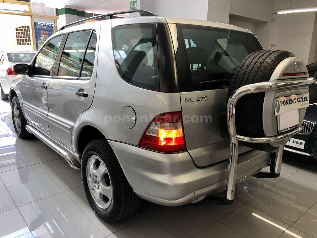 MERCEDES ML 270 CDI 4X4 5P. 163CV. DIÉSEL. REDUCTORA.